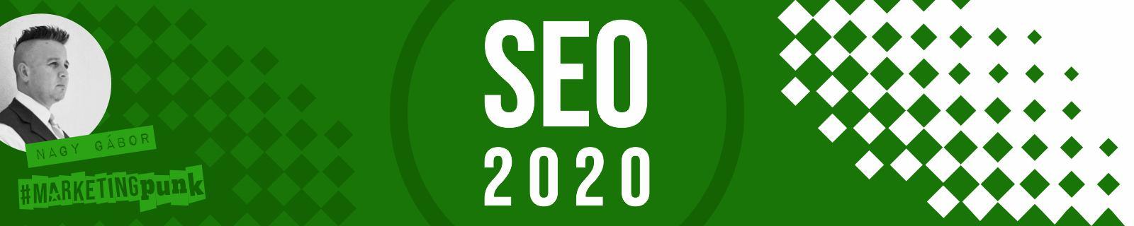 keresőoptimalizálás 2020